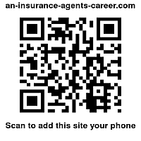 The Q.R code for www. an-insurance-agents-career.com