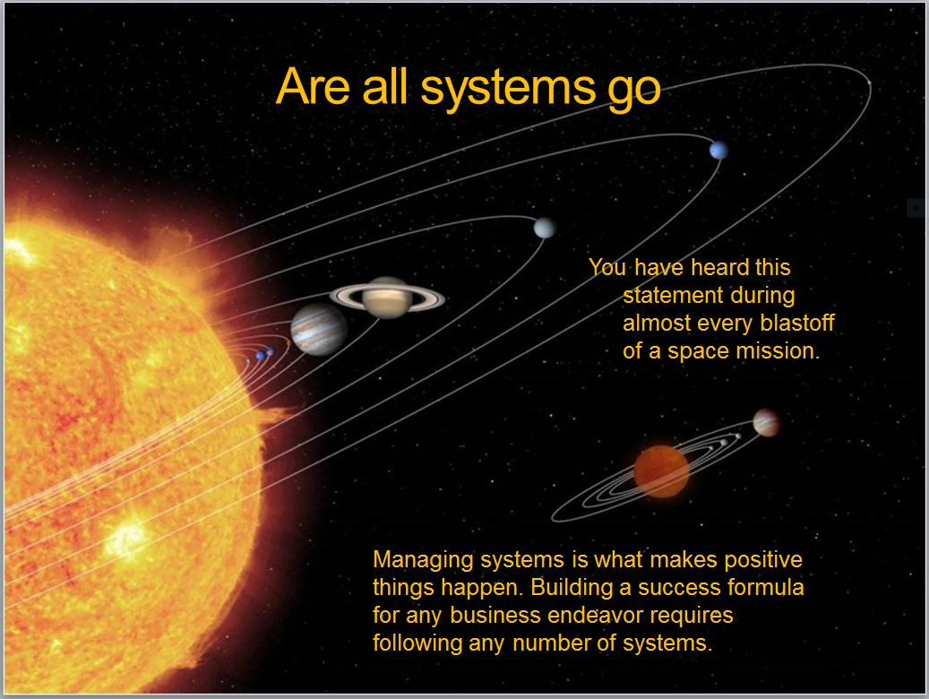 Managing a system-part 1