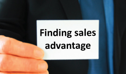 Finding sales advantages by closing on the objection