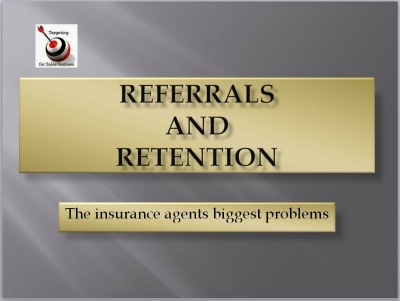 Referrals and Retention. Don't take this part of your business for granted.